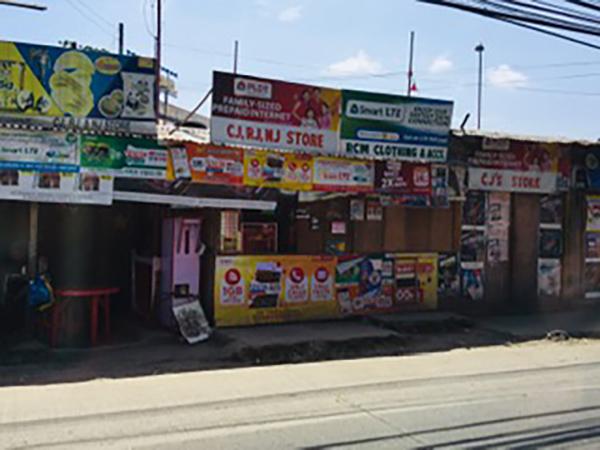 地元の人たちが利用するお店