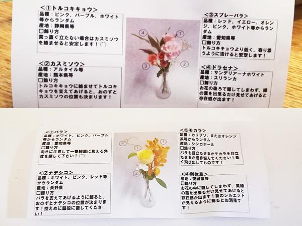 花にちょっと詳しくなれる解説付き