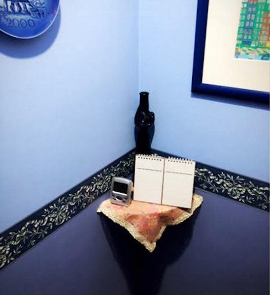 トイレの壁紙のリフォーム