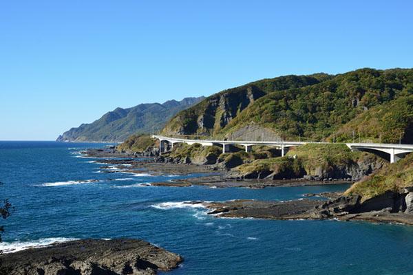 神恵内村の積丹海岸