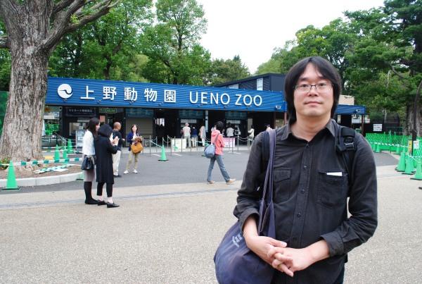 高氏貴博(たかうじ・たかひろ)さん。シャンシャンのファンからは「ぱんだうじさん」と呼ばれています