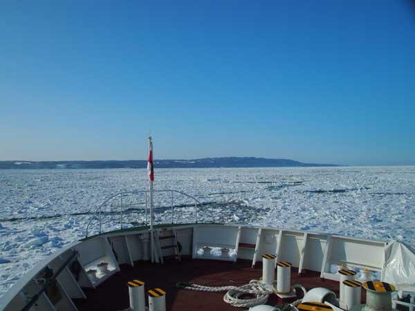 砕氷船「おーろら」