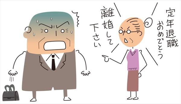 熟年離婚のきっかけは定年退職