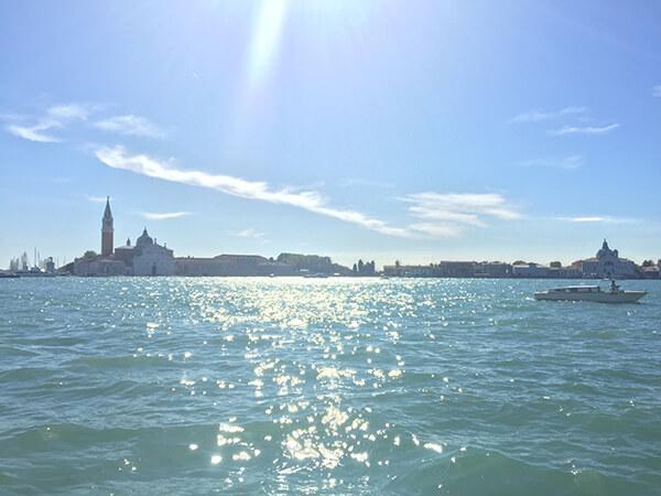 晴れの日のヴェネチア