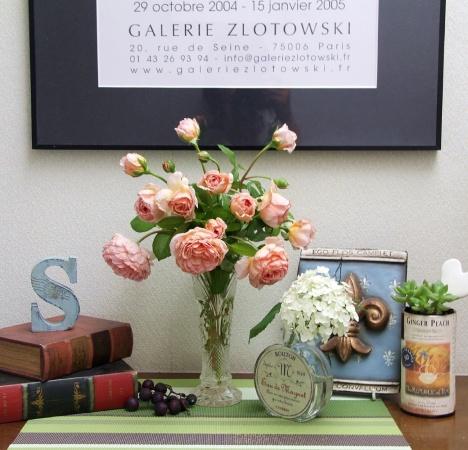 アブラハムダービーの二番花とアナベル