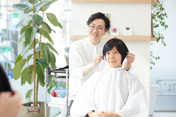 イメチェンのポイント(髪型):小顔ショート