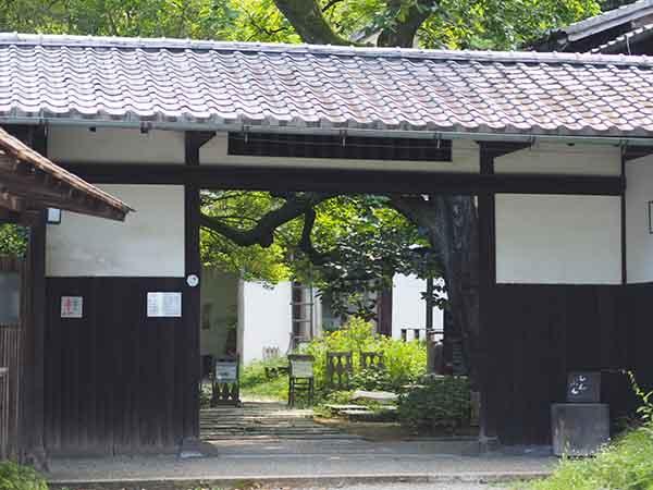 白洲次郎の旧邸正門