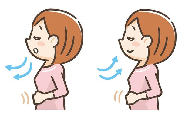 呼吸を整える方法:腹式呼吸編