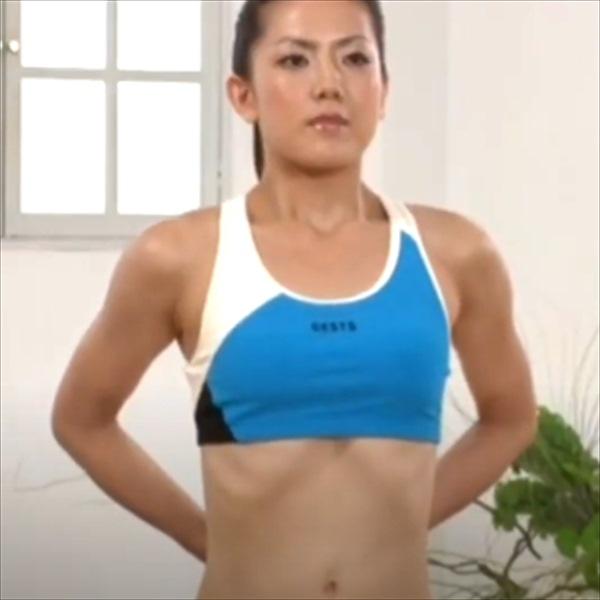 ストレッチ3:胸壁のストレッチ