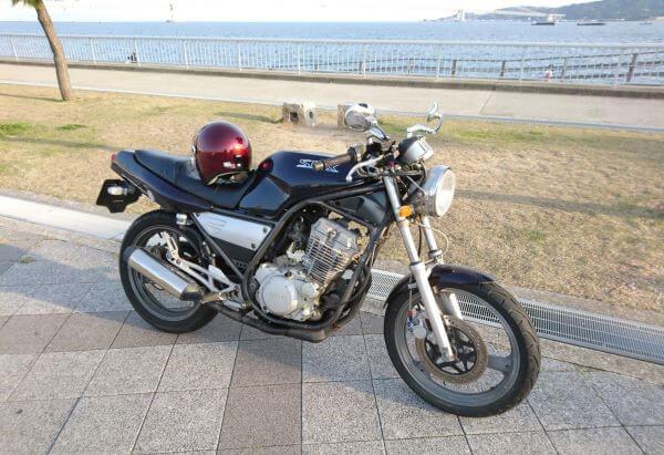 昭和の名車YAMAHA SRX250