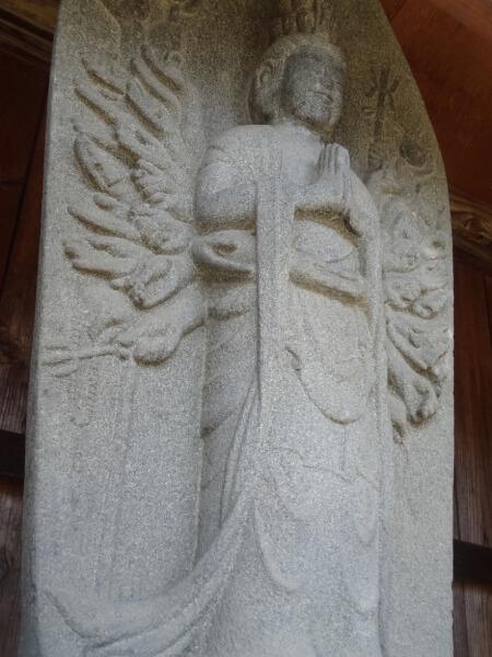 守屋貞治の仏像(建福寺)