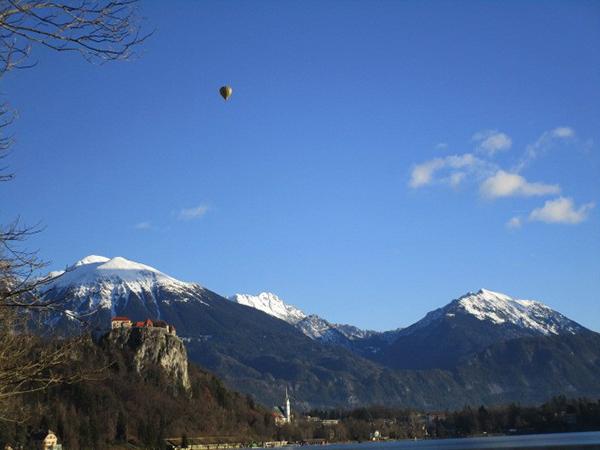 ダルマチア地方の雪山