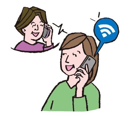 Wi-Fiとは無線でインターネットに接続できるシステムのこと