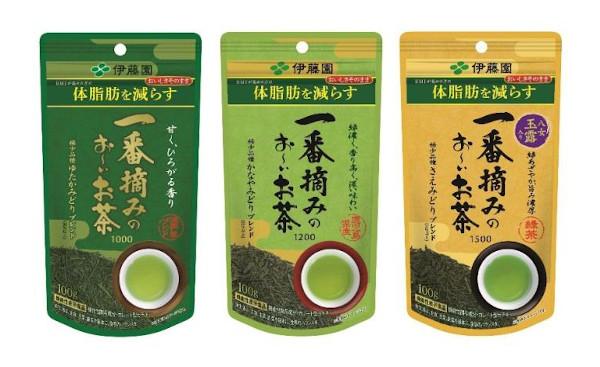 伊藤園 機能性表示食品「一番摘みのお~いお茶」シリーズ