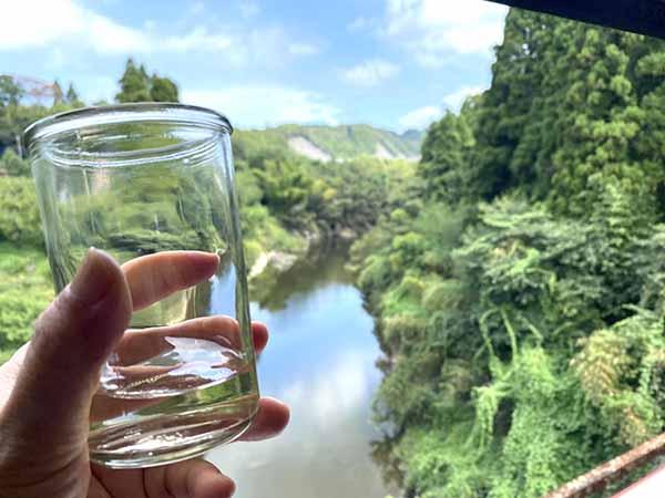 すばらしい景色も酒の肴に