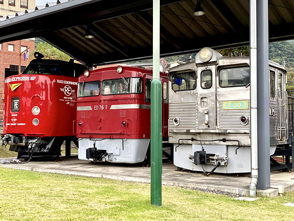 EF303、ED761、485系電車のクハ481 246
