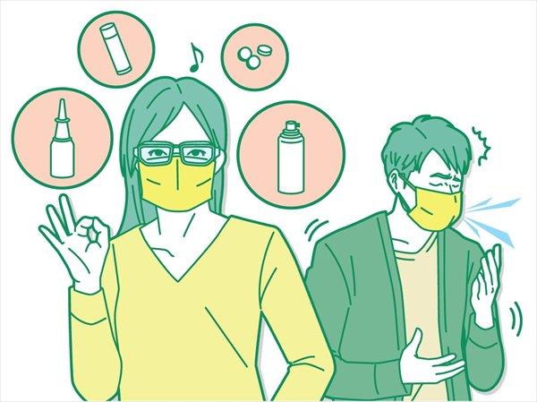 コロナ禍におすすめの花粉症対策グッズ