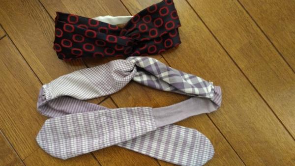 ネクタイで作るタ-バン