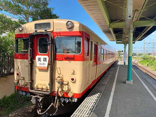 レストラン列車に使用されるキハ28