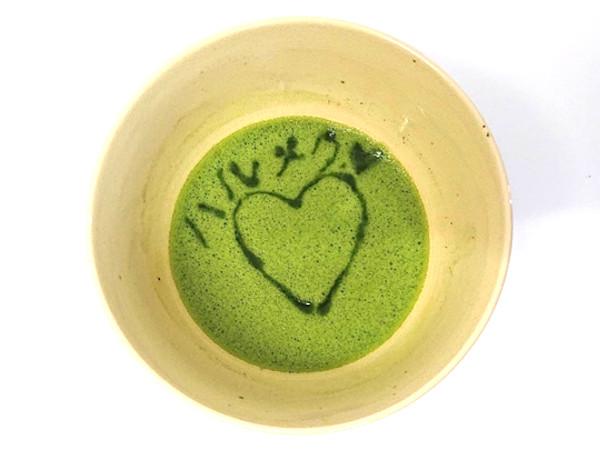 抹茶アートのやり方・方法