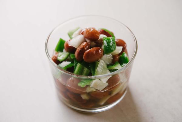 甘すっぱい「豆サラダ」