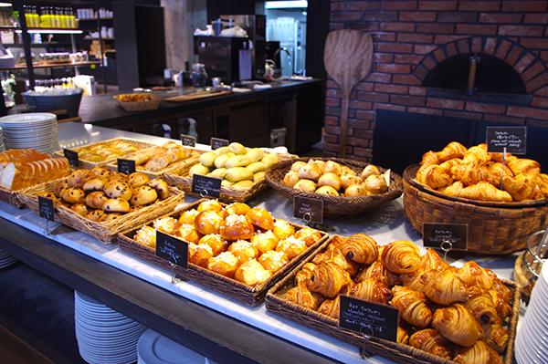 「ONOMICHI U2」ルヴァン種を使用したパンはどれも香ばしい