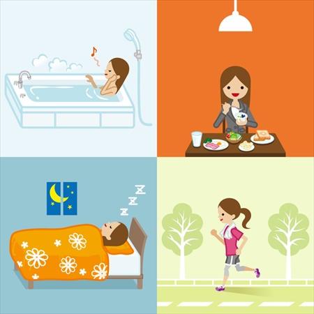 冷え対策には生活習慣の改善が大切!