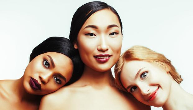 人種の違いと肌