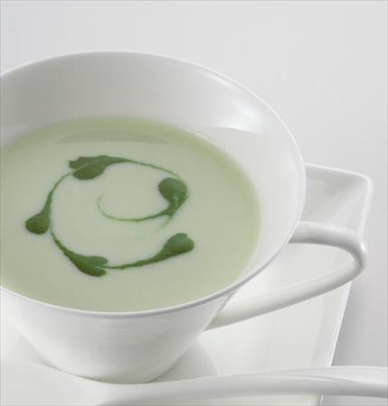 夏バテ解消レシピ1:グリーンポタージュ
