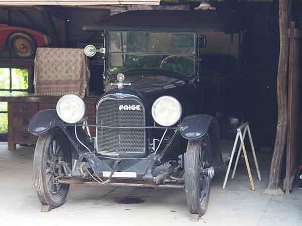 白洲次郎のクラシックカー