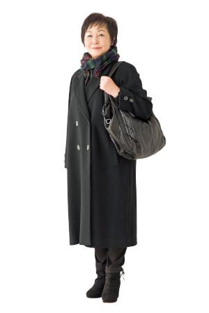 【NGコーデ】バッグの色:コートと同系色はもっさり見える