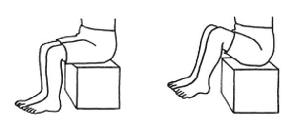 足のむくみをとる体操3:足首ジャンプ体操