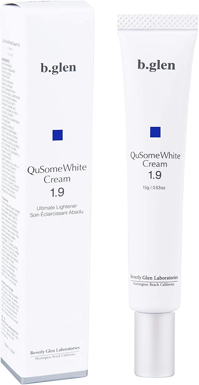 「QuSome ホワイトクリーム1.9」¥6,600(税抜)(b.glen)