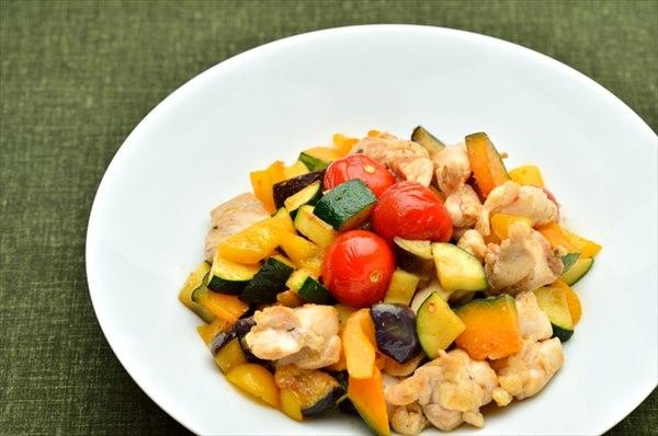 ビタミン豊富な緑黄色野菜