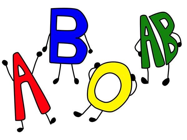 一般的な血液型とは「ABO式血液型」