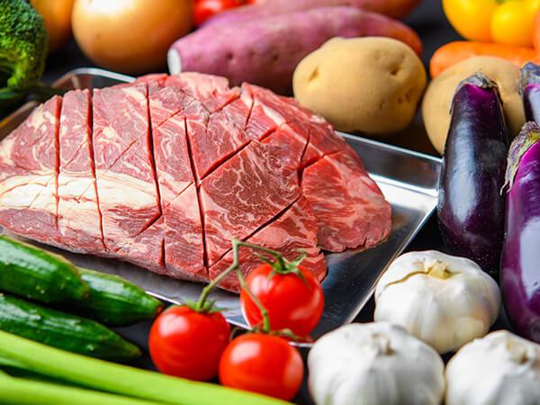 肉もしっかり食べて、食生活を豊かに