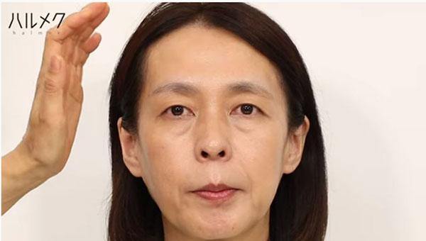 眉毛を整えるステップ3:左右の高さを合わせる