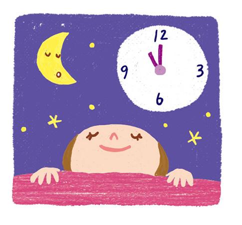 体臭改善アイデア11:夜は12時前に寝る