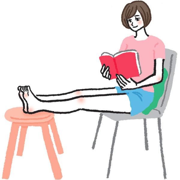 下肢静脈瘤を予防する日常生活