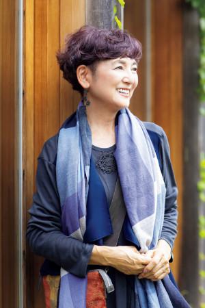 60代ファッションのお手本:江波戸玲子さん