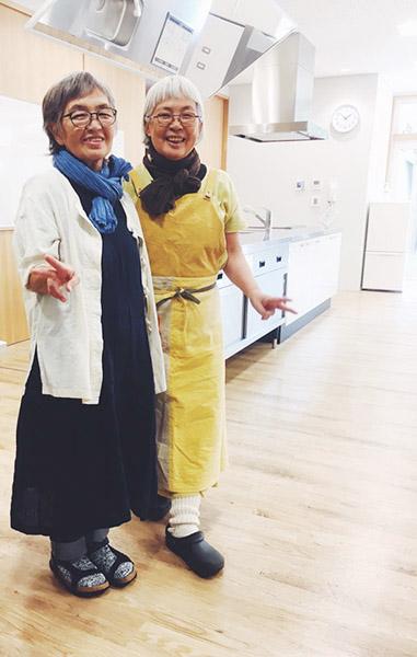 園部暁美さんと中園五月さん