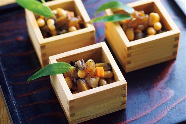 横山タカ子さんのレシピ:五目豆の煮物