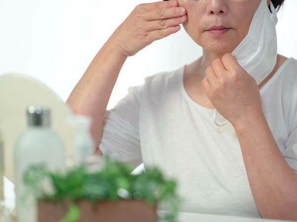 マスク着用による乾燥