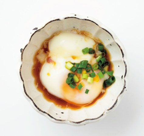 レンジで作れる温泉卵