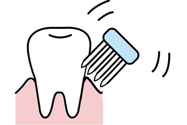歯磨きのときの最適な歯ブラシの角度は?