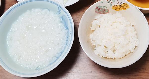 パッククッキングレシピ1:ご飯・お粥