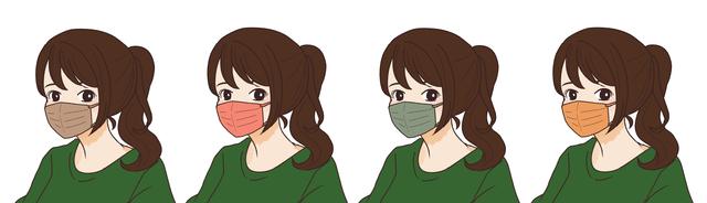 【オータムタイプ(イエベ秋)】に似合うマスクの色