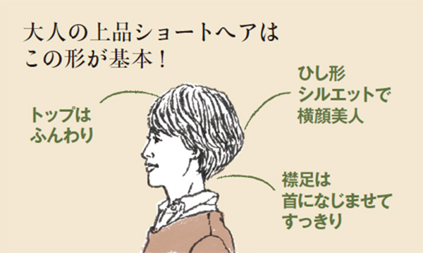 50代・60代女性におすすめのショートヘア