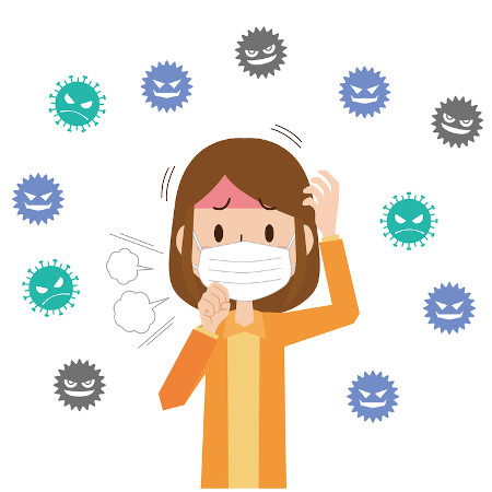 花粉症と風邪の見分け方