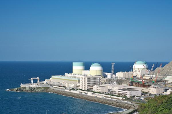 四国電力の伊方発電所